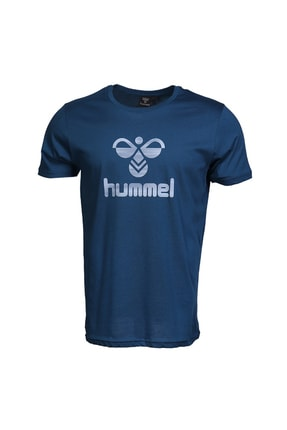 HUMMEL Admir Mavi Kısa Kollu Erkek T-Shirt 2