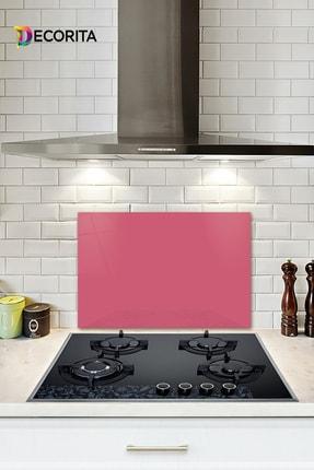 Decorita Düz Renk - Neon Pembe | Cam Ocak Arkası Koruyucu | 40cm x 60cm 0