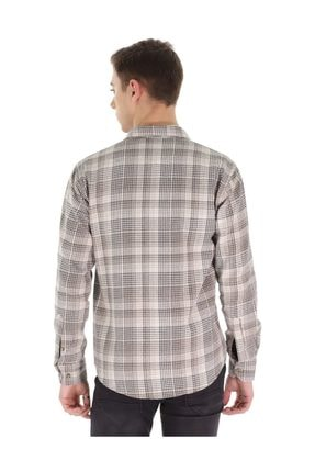 Carlamia Erkek Desenli Uzun Kol Gömlek 3