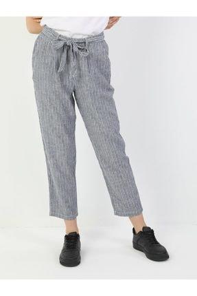 Colin's Regular Fit Orta Bel Düz Paça Kadın Indigo Pantolon 3