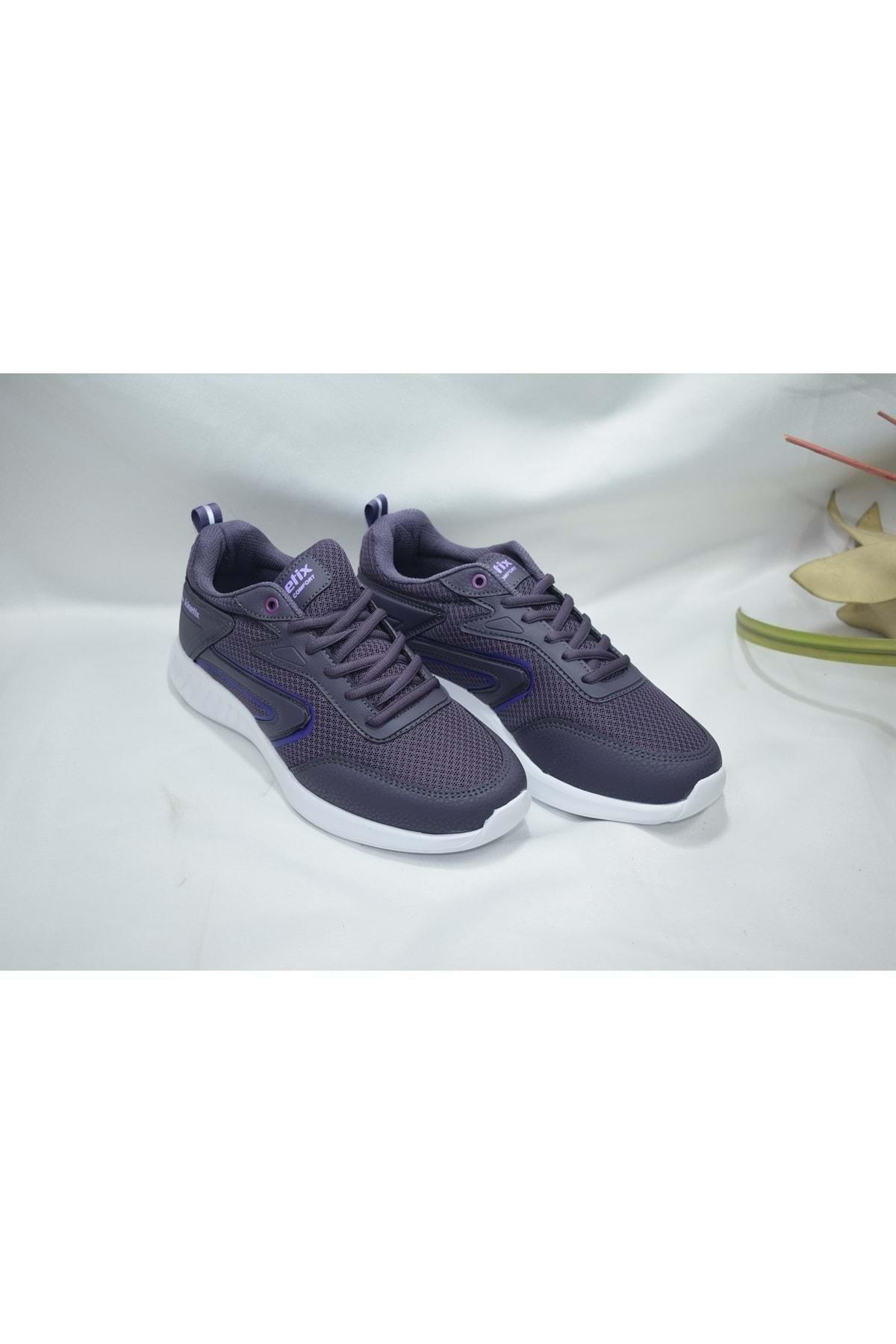LONNI W 1FX Mor Kadın Koşu Ayakkabısı 100785589