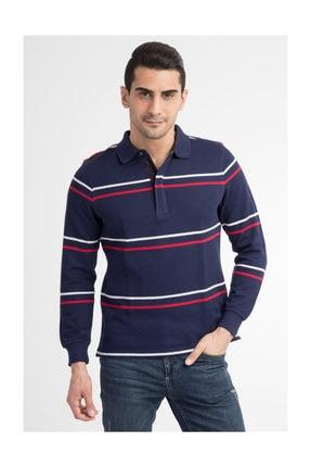 Kiğılı Erkek Lacivert Polo Yaka T-Shirt - 29334 1