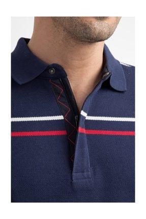 Kiğılı Erkek Lacivert Polo Yaka T-Shirt - 29334 3