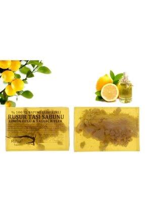 Ruşur Sefidab Ruşur Taşı Sabunu Limon Özlü %100 El Yapımı 0