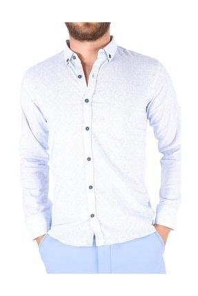 Carlamia Erkek Bengalin Baskılı Gömlek 4