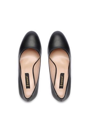 Kemal Tanca Siyah Kadın Vegan Topuklu Ayakkabı 51 1059 BN AYK Y19 3