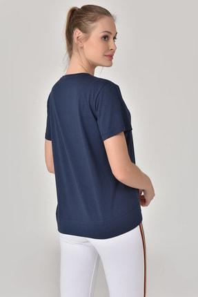 bilcee Lacivert Kadın T-Shirt GS-8623 1