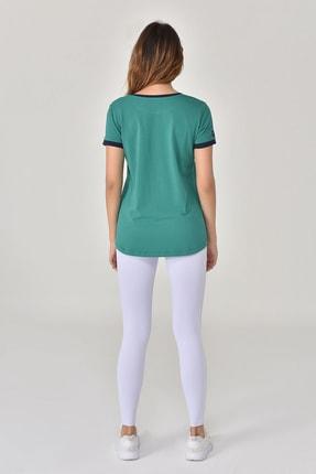 bilcee Yeşil Kadın T-Shirt GS-8070 2