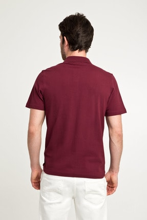 Kiğılı Erkek Bordo Polo Yaka T-Shirt - Cdc01 3