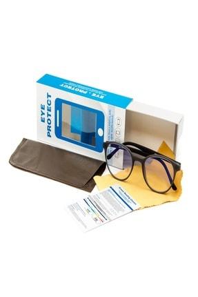 Eye Protect Ekran Koruyucu Gözlük Gri Çerçeveli 1