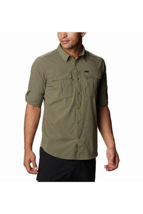 Columbia Erkek Yeşil Cepli Gömlek Ao0762-397 4