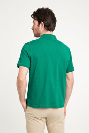 Kiğılı Erkek Yeşildüz Polo Yaka Pıke T-Shırt - Cdc01 2