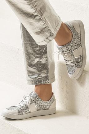 Elle AREAL Gümüş Kadın Ayakkabı 0