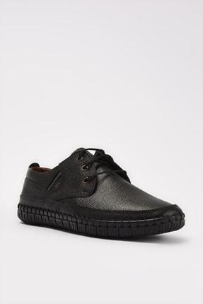 Yaya by Hotiç Hakiki Deri Siyah Erkek Klasik Ayakkabı 02AYY207670A100 1