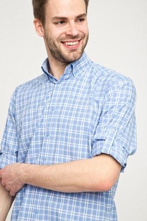 Kiğılı Uzun Kol Regular Fit Ekose Spor Gömlek 3
