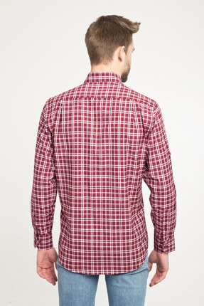 Kiğılı Uzun Kol Regular Fit Ekose Spor Gömlek 2
