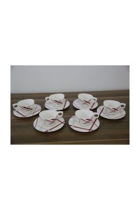 Luminarc Couture 6'lı Beyaz Çay Fincanı Seti 220 Ml 0