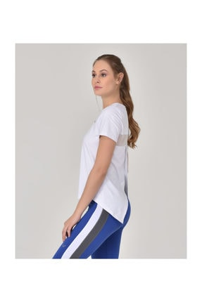 bilcee Beyaz Kadın Sırt Detaylı Kadın T-Shirt GS-8110 1