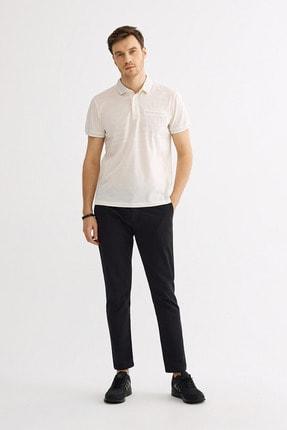Avva Polo Yaka Düz Cepli T-Shirt 3