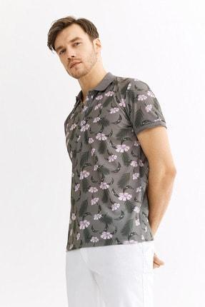Avva Polo Yaka Baskılı T-Shirt 1
