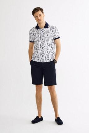 Avva Polo Yaka Baskılı T-Shirt 4