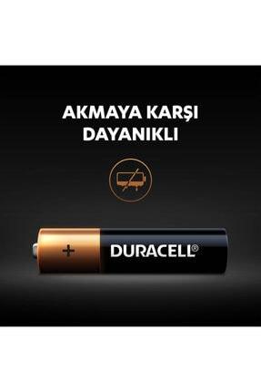 Duracell 4'lü Paket Alkalin Aaa İnce Kalem Pil 4