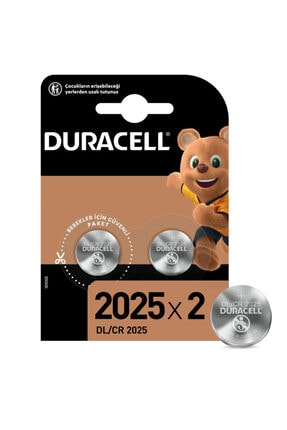 Duracell 2'li Lithium 3V Pil 0