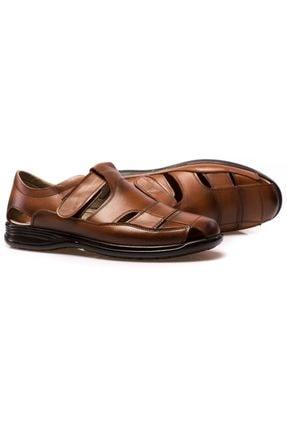 maximoda Erkek Hakiki Deri, Klima Taban, Sandalet 1
