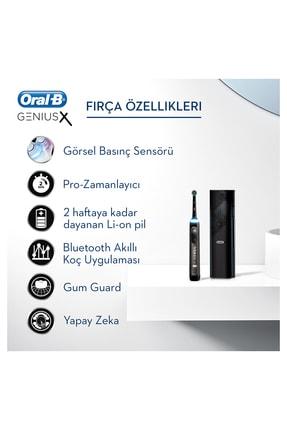Oral-B Genius x Luxery Edition Anthracite grey Şarj Edilebilir Diş Fırçası 3