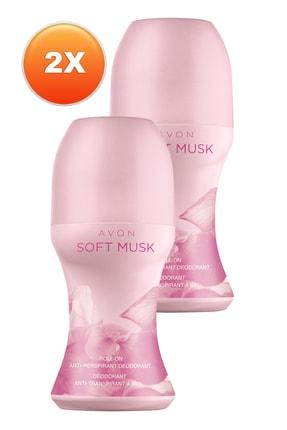 Avon Soft Musk Kadın Rollon 50 ml 2'li Set 5050000106054 0