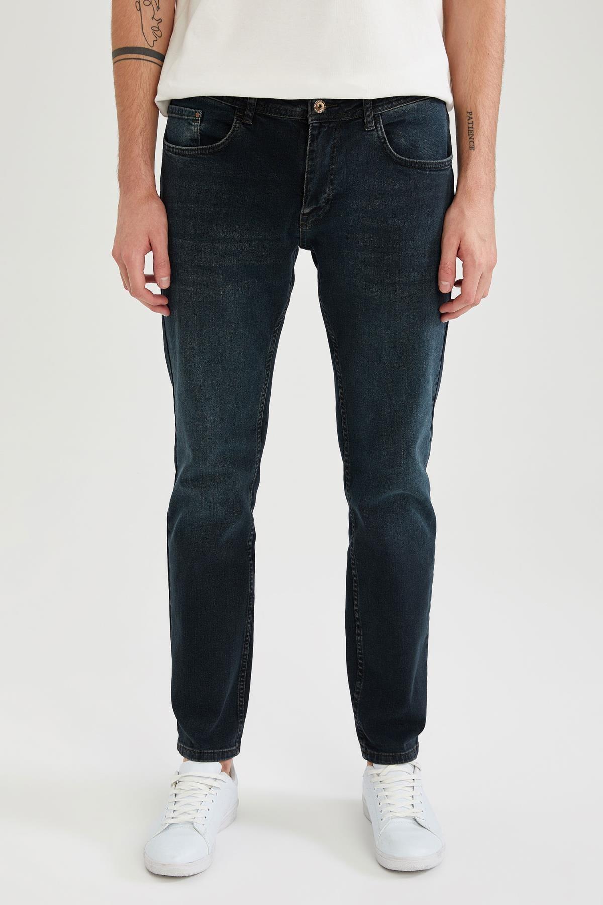 Sergio Regular Fit Normal Bel Boru Paça Jean Pantolon