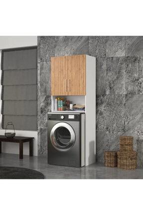 DM MOBİLYA Çamaşır Makinesi Dolabı(banyo Dolabı) 1