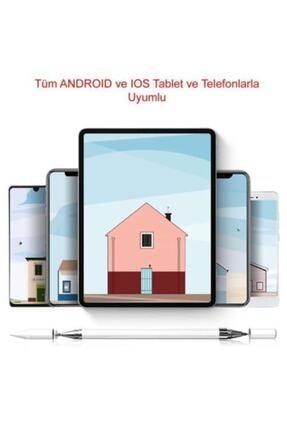 Nezih Case Apple Ipad Iphone Android Uyumlu Pencil 2in1 Disk Uçlu Stylus Kalem 3