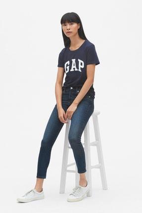 GAP Kadın Kadın Gap Logo Kısa Kollu T-Shirt 355309 2