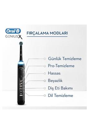 Oral-B Genius x Luxery Edition Anthracite grey Şarj Edilebilir Diş Fırçası 4