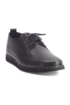 MARCOMEN 20y 152-11308 Erkek Deri Günlük Ayakkabı Siyah 3