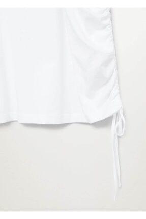 Mango Fırfırlı Uzun Kollu Tişört 4