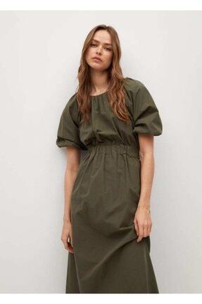 Kadın Yeşil Uzun Elbise 87036331