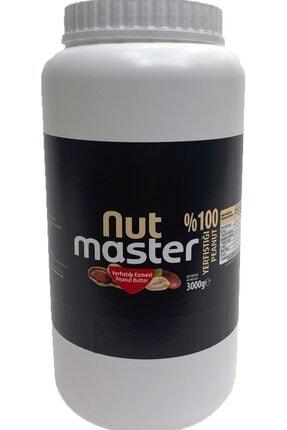 Nut Master Yer Fıstığı Ezmesi %100 3 Kg 0