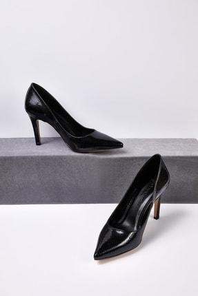 Picture of Kadın Siyah Klasik Topuklu Abiye Ayakkabısı JULIA