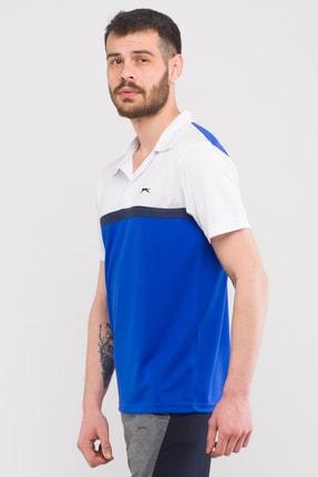 Slazenger Troop Erkek T-shirt Saks Mavi 2