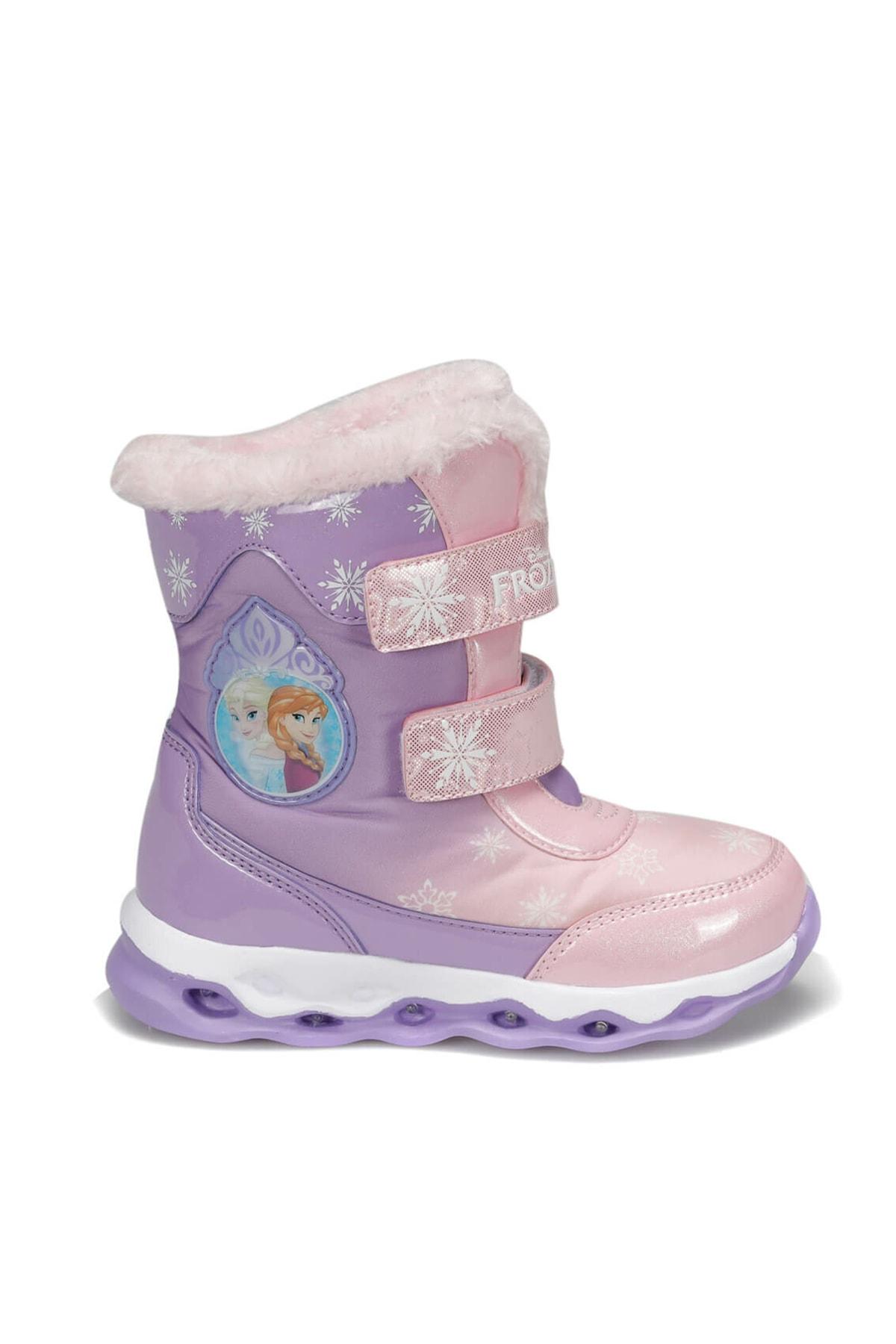 Frozen 92.OLY.P Mor Kız Çocuk Kar Botu 100406178 1