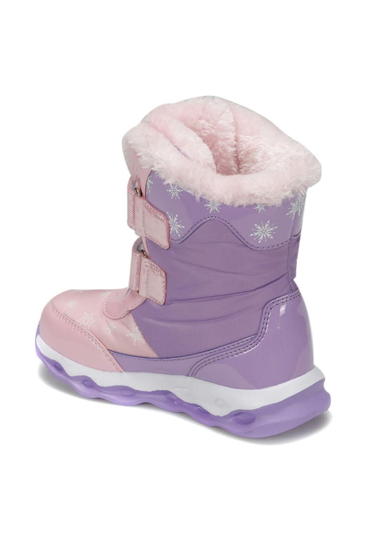 Frozen 92.OLY.P Mor Kız Çocuk Kar Botu 100406178 2