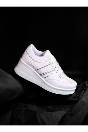 ayakkabıhavuzu Kadın Beyaz Spor Ayakkabı  1298154 2