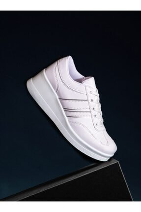 ayakkabıhavuzu Kadın Beyaz Spor Ayakkabı  1298154 3