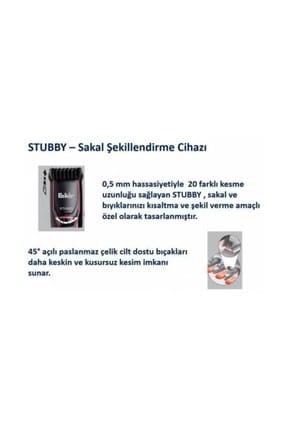 Fakir Stubby Sakal Şekillendirme Cihazı Beyaz Krom 3