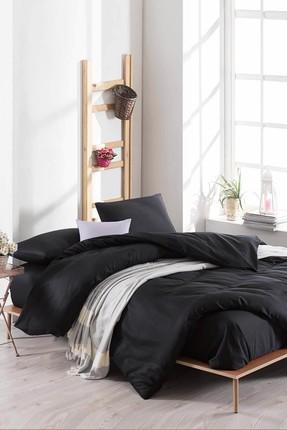 Ev & Ev Home Çift Kişilik Paint Nevresim Takımı D.Boya Siyah 0