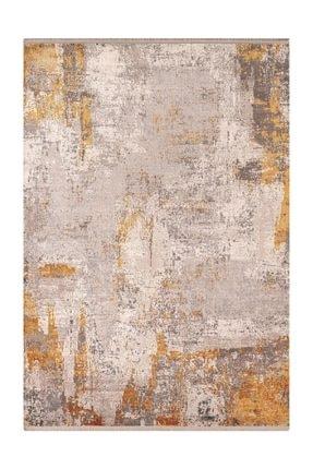 Sanat Halı Doku Koleksiyonu 1091 Gri Saçaklı Halı 1