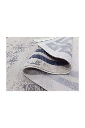 Balat Halı Mavi Çerçeveli Taşlama  Oturma Odası Ve Salon Halısı-200x290 1