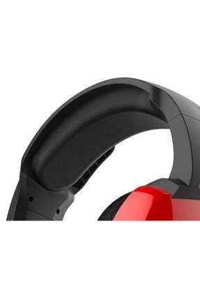 Rampage RM-K5 Noble 7.1 Surround Sound System USB Mikrofonlu Oyuncu Kulaklığı Siyah/Kırmızı 3
